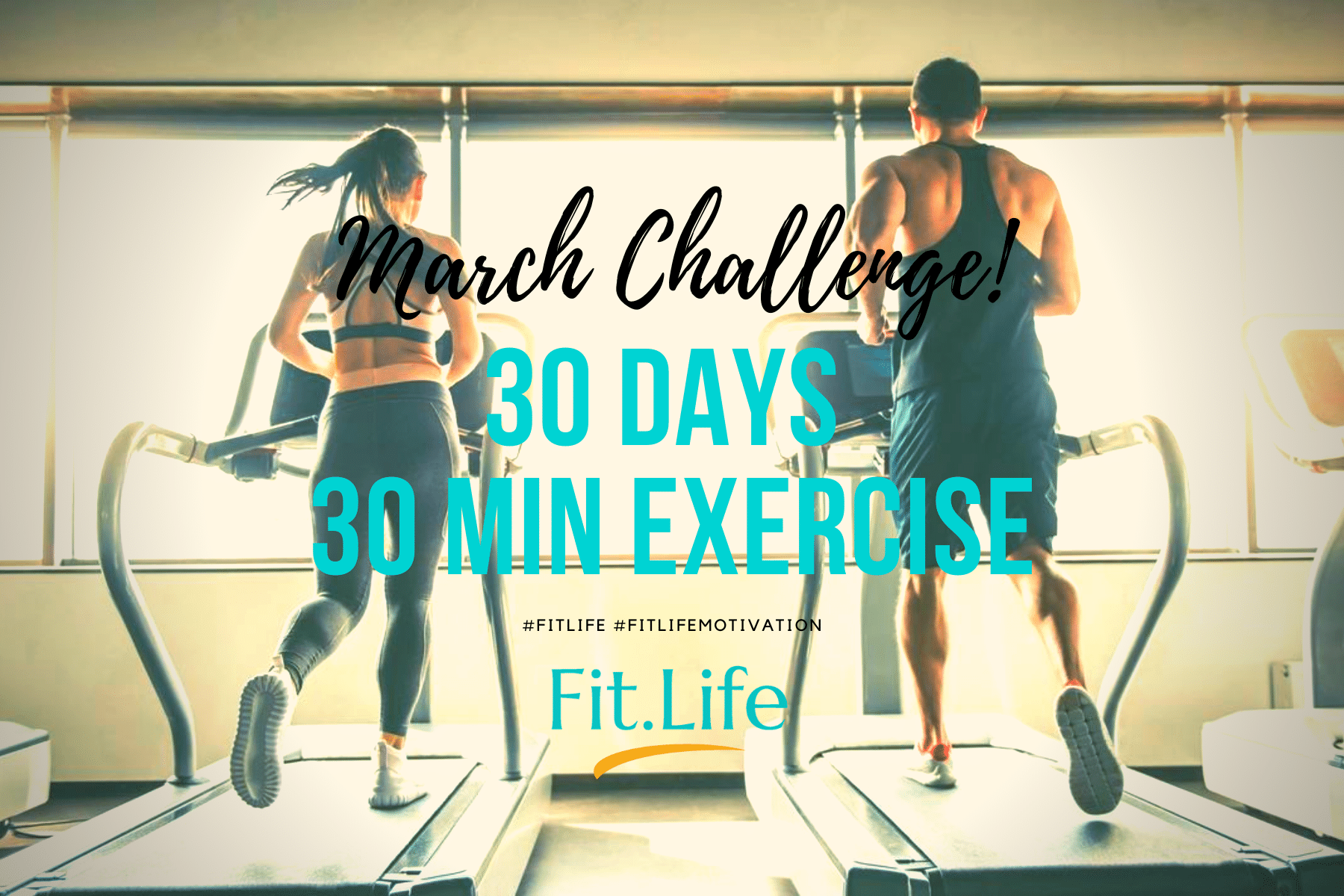 Fit Life March Challenge Banner