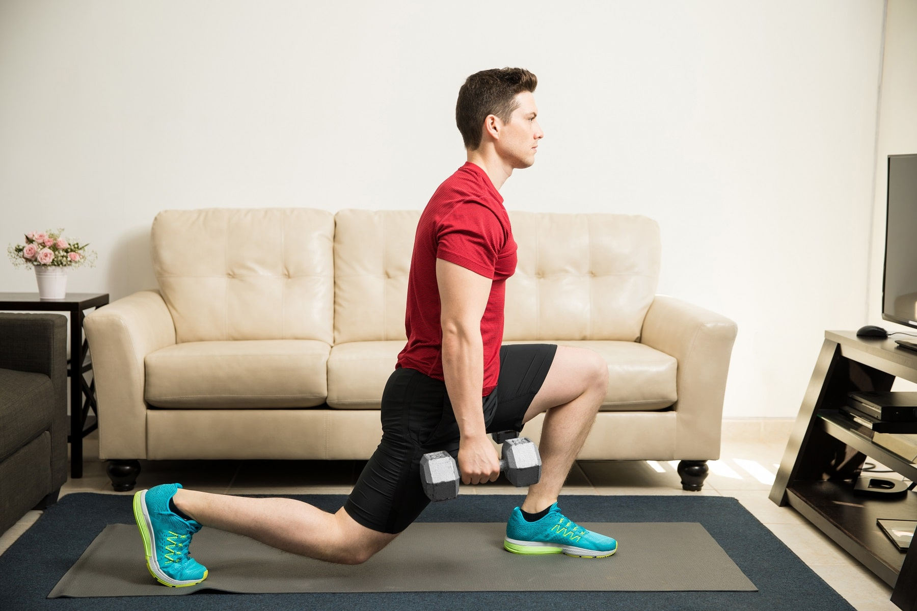 Fit Life Home Workout With Dumbbells